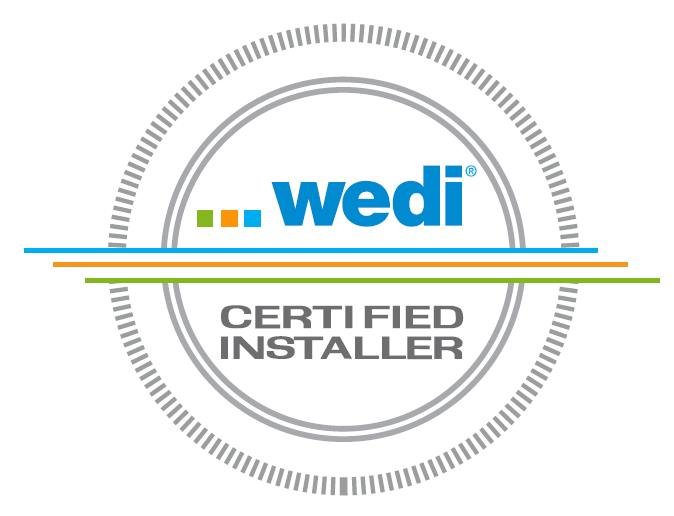 WEDI license certified contractor